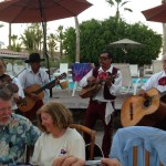 Serenaded by a mariachi band